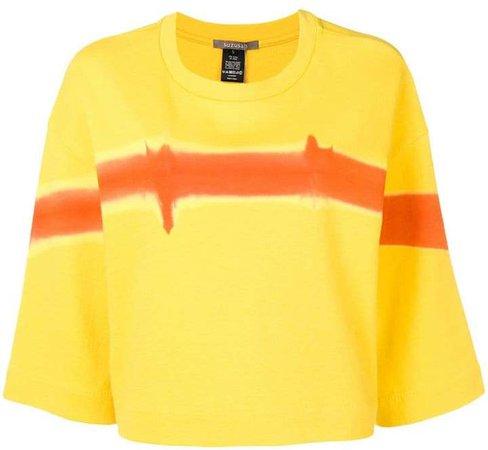 Suzusan paint effect T-shirt
