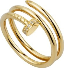CRB4211800 - Juste un Clou ring - Yellow gold, diamonds - Cartier