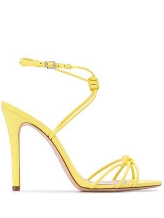 Schutz Knot Detail Stiletto Sandals Ss20