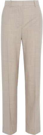 Livio Wool Straight-leg Pants