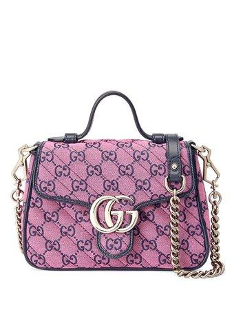 Gucci Mini Sac à Main GG Marmont Multicolor - Farfetch
