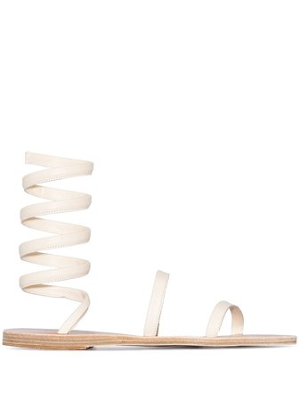 Ancient Greek Sandals Ofis ankle-wrap Sandals - Farfetch