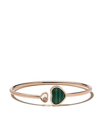 Chopard Brazalete Happy Hearts En Oro Rosa De 18kt Con Diamante - Farfetch
