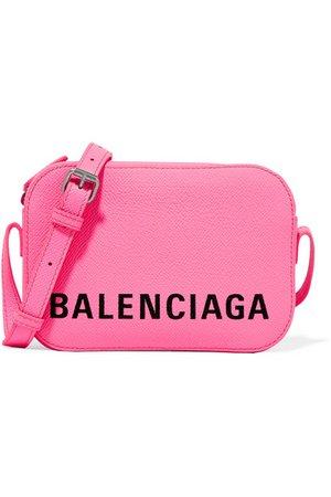 Balenciaga   Ville XS AJ printed textured-leather shoulder bag   NET-A-PORTER.COM