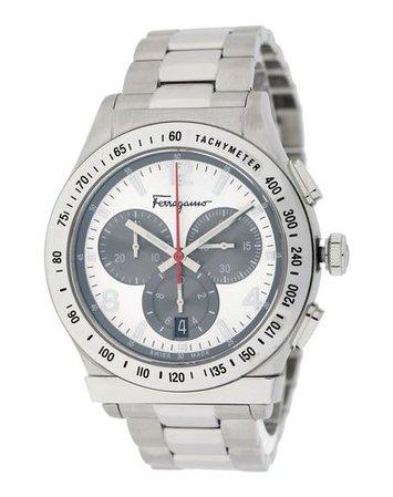 Salvatore Ferragamo Ferragamo Sfdk00318 1898 42Mm Chr - Wrist Watch - Men Salvatore Ferragamo Wrist Watches online on YOOX United States - 58044952KX