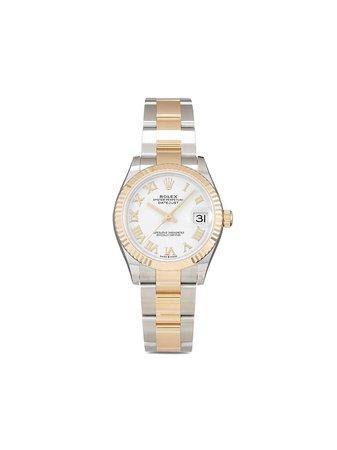 Rolex Oanvänd Datejust 31 Mm Klocka Från 2021 - Farfetch