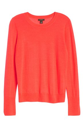 Halogen® Crewneck Merino Wool Blend Sweater | Nordstrom