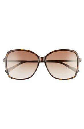Gucci 60mm Rectangular Sunglasses   Nordstrom
