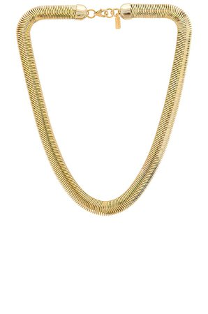 Electric Picks Jewelry Cobra Necklace in Gold | REVOLVE