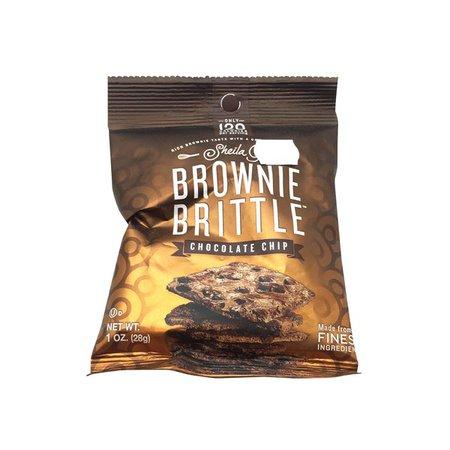 Sheila G's Chocolate Chip Brownie Brittle, 2 oz. Bags