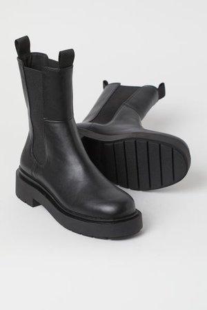 High Profile Chelsea Boots - Black - Ladies | H&M US