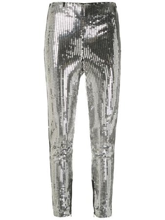 Silver Nk Starlight Trevor sequinned trousers - Farfetch