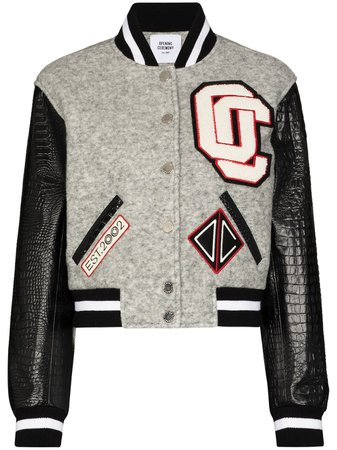 Opening Ceremony Cropped Varsity Bomber Jacket Aw20 | Farfetch.Com