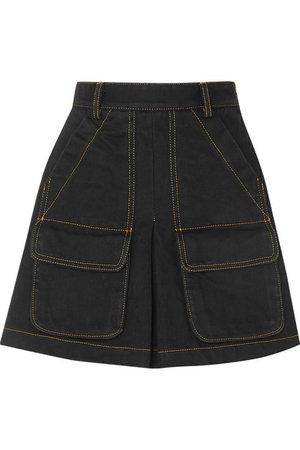 Matthew Adams Dolan | Denim mini skirt | NET-A-PORTER.COM