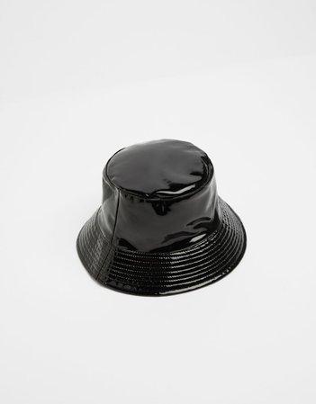 Reversible bucket hat with dragon print - New - Woman | Bershka
