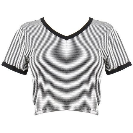 stripped tshirt crop top - Google Search