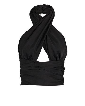 ATOÌR Give It All Wrap Halter Top | INTERMIX®