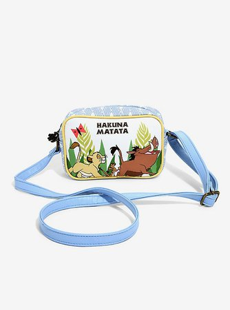 Loungefly Disney The Lion King Hakuna Matata Crossbody Bag