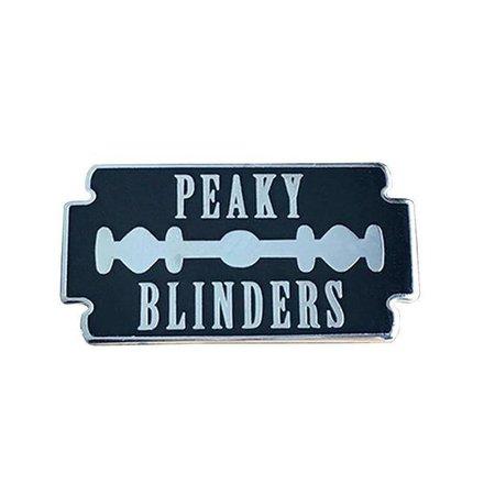 Peaky Blinders Razor Blade Enamel Pin Badge   Etsy