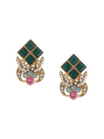 Dolce & Gabbana Rhinestone-embellished Earrings