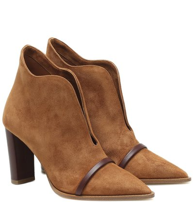 Clara 85 suede ankle boots