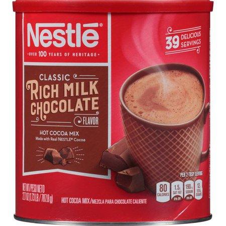 Nestle Rich Milk Chocolate Hot Cocoa Mix - 27.7oz : Target