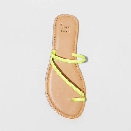 Women's Alix Skinny Strap Slide Sandals - A New Day™ : Target