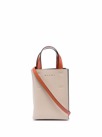 Shop Marni Museo mini tote bag with Express Delivery - FARFETCH