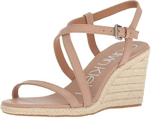 Amazon.com | Calvin Klein Women's Wedge Sandal | Platforms & Wedges
