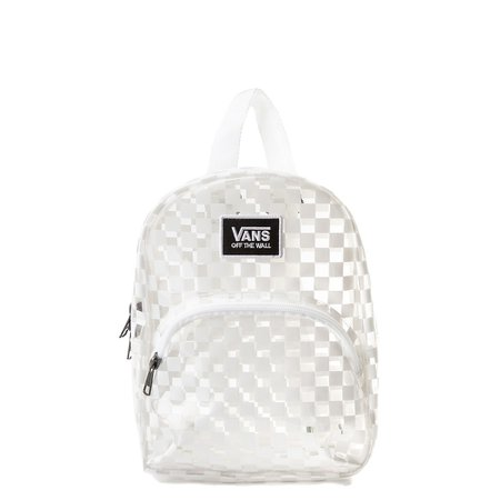 Vans Gettin' It Mini Backpack - Clear / White | Journeys