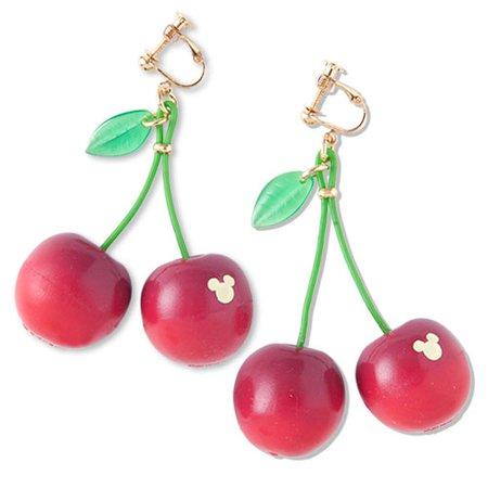 disney cherry earrings