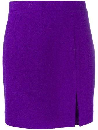 Alessandra Rich High Waist Mini Skirt - Farfetch
