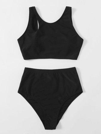 High Waisted Bikini Swimsuit | SHEIN USA