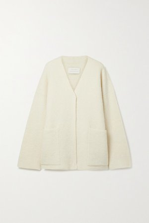 Knitted Cardigan - Off-white