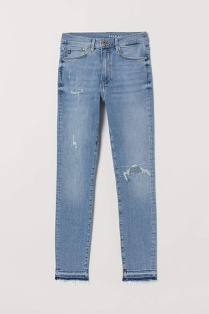 Shaping Skinny High Jeans - Blue