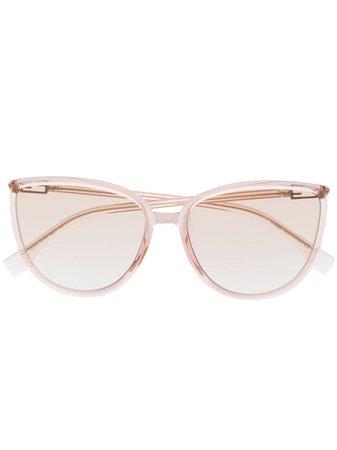Fendi Eyewear Transparent cat-eye Sunglasses - Farfetch