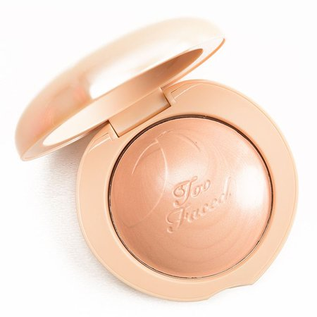 too faced peach cream highlighter