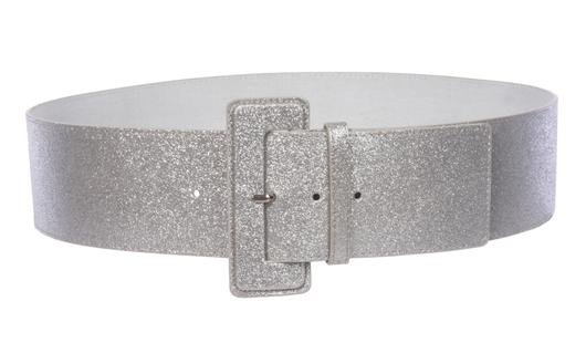 Ladies High Waist Wide Glitter Fashion Plain Leather Belt – Beltiscool