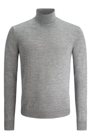Bugatchi Merino Wool Turtleneck Sweater | Nordstrom
