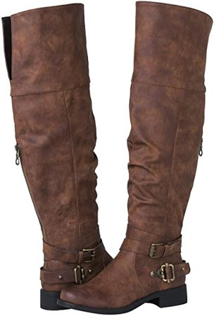 Amazon.com | GLOBALWIN Women's 18YY26 Over The Knee Fashion Boots | Over-the-Knee
