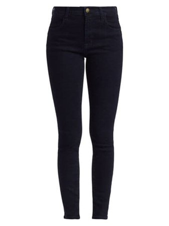 J Brand - Maria High-Rise Skinny Jeans - saks.com
