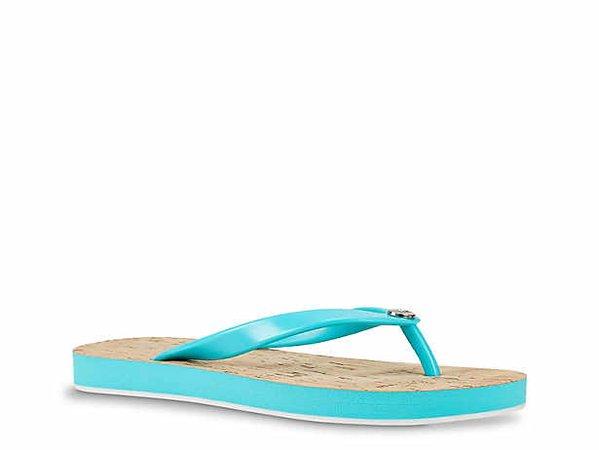 blue flip flops dsw - Google Search
