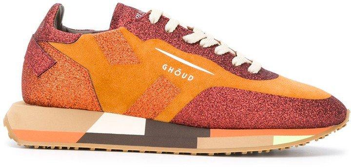 Ghoud Colour-Block Logo Sneakers