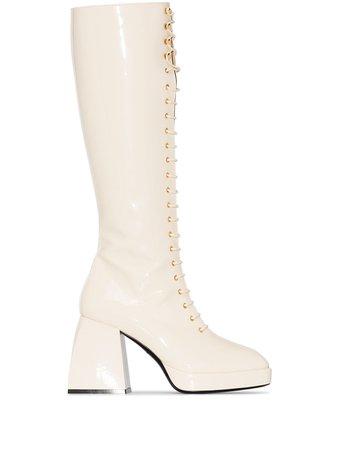 Nodaleto Bulla Ward 85mm knee-high Boots - Farfetch