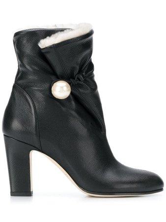 JIMMY CHOO Bethane shearling boots