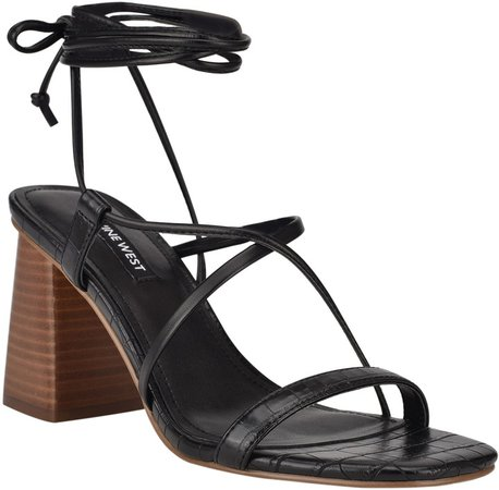 Young Block Heel Sandal
