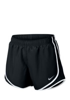 black nike shorts athletic