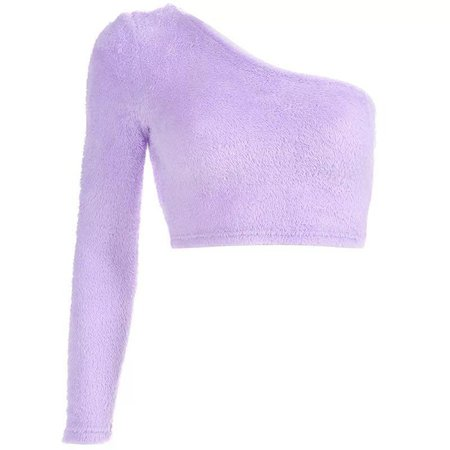 PURPLE FURRY CROP TOP – dog dog