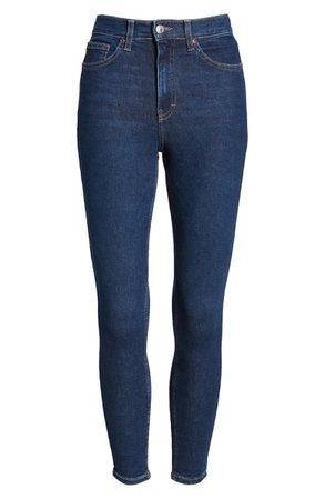 Topshop MOTO Jamie High Waist Skinny Jeans   Nordstrom