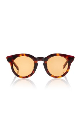 Spektre Fingers Round-Frame Acetate Sunglasses